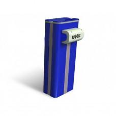 Тумба для шлагбаума FAAC B680H синего цвета RAL 5011