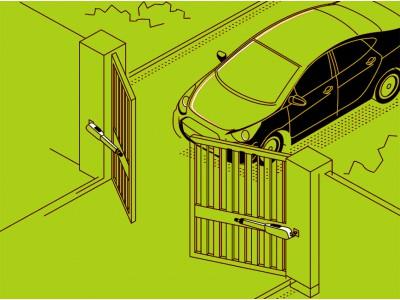 Как правильно установить автоматику для распашных ворот?