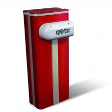 Тумба для шлагбаума FAAC B680H красного цвета RED RAL 3020