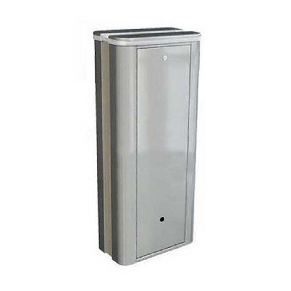 Тумба для шлагбаума FAAC B680H серого цвета RAL 9006