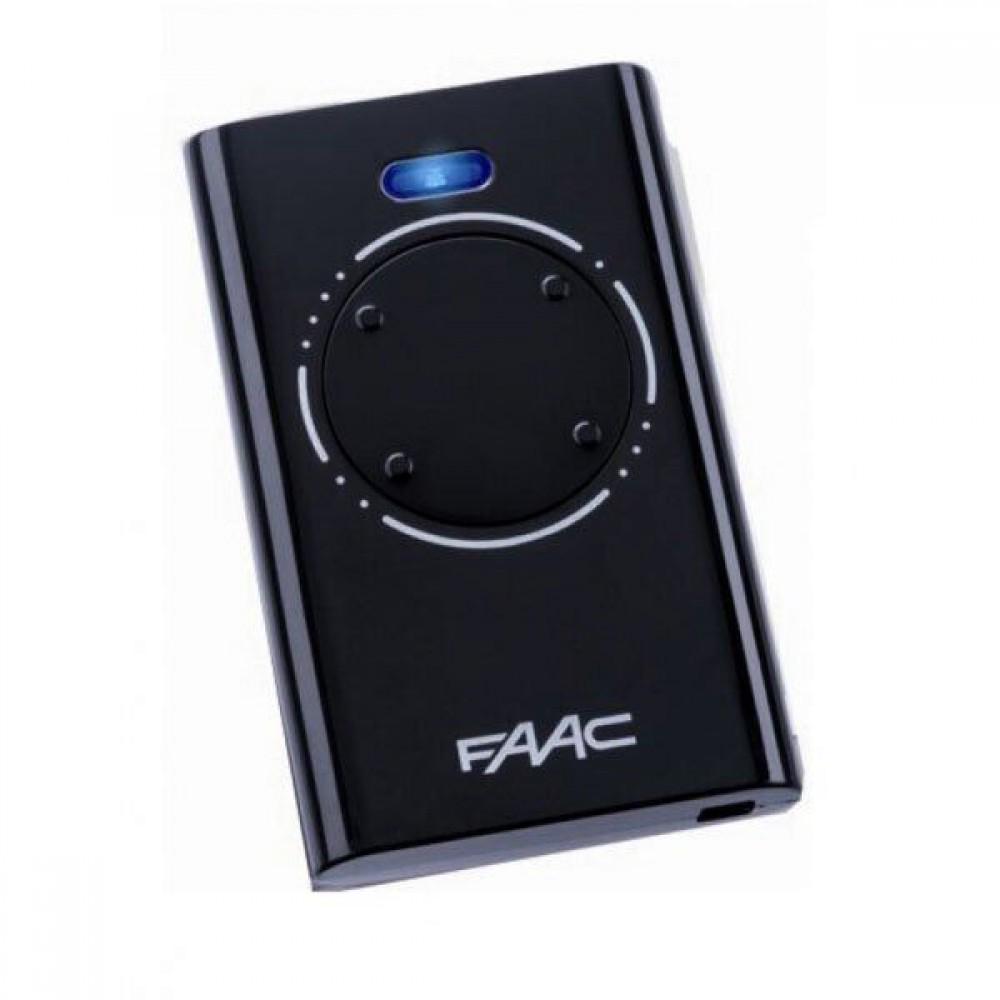 Пульт 4-х канальный FAAC XT4 868 SLH LR (черный)